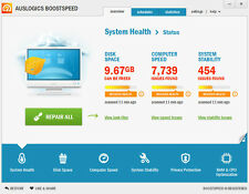 Latest Auslogics BoostSpeed 9  3 PC 1 Yr Registry Optimize Tuneup PC