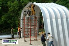Steel Gambrel Arch 40x50x16 Equipment Cover Storage Building Roof Kit A-Series