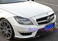 PAINTED FRONT LIP SPOILER SPLITTER FOR Mercedes Benz W218 NEW CLS63 11UP M050F