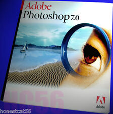 OWN IT! NOT A DOWNLOAD Adobe Photoshop 7.0 Software Full Retail WINDOWS VG