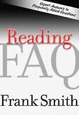 NEW - Reading: FAQ by Frank Smith