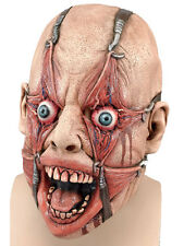 Adult Scary Evil Torture Hamulus Fear Rubber Latex Mask Fancy Dress Accessory