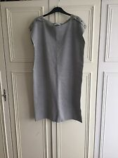 Nichole Farhi Grey Dress, Size XL, Uk 14-16