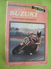 Suzuki GS750 GS750B GS750L GS750N GS75C GS750E GS750T Shop Manual 1977-1982 OLD
