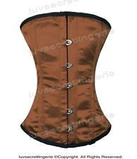 100% Full Steel Boned Underbust Heavy Lacing Shaper Corset #HC8186