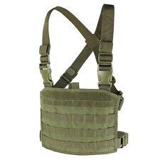 Condor MCR3-001 OD Tactical MOLLE Compact Modular Panel Pocket Chest Rig Vest