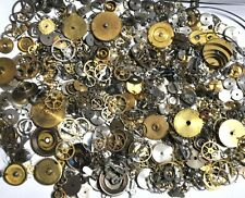 50 grams Vintage Steampunk Mixed Pocket/Wrist Watch Parts Jewelry Craft