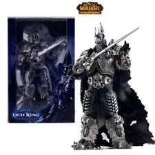 "WOW WORLD OF WARCRAFT - FIGURA FALL OF THE LICH KING ARTHAS 18cm / 7"" FIGURE"