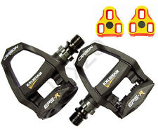 Exustar E-PR200CKTi Titan Carbon Clipless SPD Pedals Bike Cycle Bicycle Look Keo