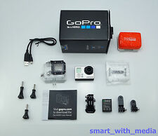 GOPRO HERO 3 SILVER EDITION SPORTS ACTION CAMCORDER BOXED DIGITAL 1080 HD VIDEO