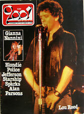 CIAO 2001 49 1979 Lou Reed Blondie Sparks Police Alan Parsons Jefferson Starship