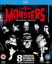 UNIVERSAL MONSTERS THE ESSENTIAL COLLECTION REGION-FREE BLU-RAY 8-DISC BOX SET