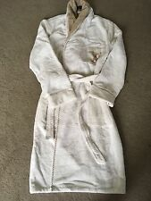 LOUIS VUITTON NEW UNISEX BEAUTIFUL WHITE BROWN BATHROBE RRP £1050