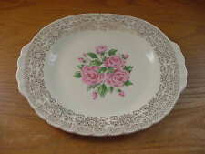 Sebring American Limoges China Bouquet 12 Inch Oval Platter