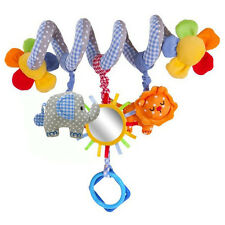 Newborn Baby Infant Children Hanging Stroller Bed Spiral Toy Bell Musical Rattle