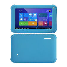 """Sky Blue Soft Silicone Cover Case for 7 inch 7"""" Android Capacitive PC Tablet"""