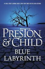 Blue Labyrinth by Douglas Preston and Lincoln Child (2014, Hardcover)