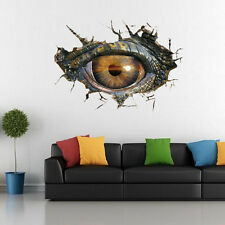 Jurassic Dinosaur Eye World 3D Wall Sticker Vinyl Decal Kids Room Children UK