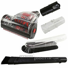 Vacuum Cleaner Turbo Brush Head & Adaptors Cleaning Tool Kit For Dyson DC07 DC08