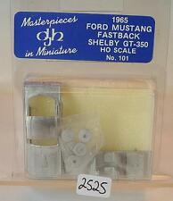 DJH Masterpieces 1/87 H0 Metal Kit 101 Ford Mustang Fastback Shelby OVP #2525
