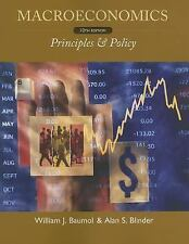Macroeconomics : Principles and Policy by Alan S. Blinder and William J....