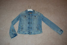 Woman's Abercrombie and Fitch Jean Jacket, size large, NWT