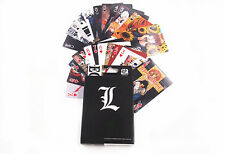 Anime Death Note L Playing Card Deck Poker Toy New