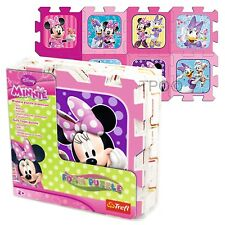 Trefl 8 Piece Baby Kids Infant Girls Soft Foam Mat Minnie Mouse Jigsaw Puzzle