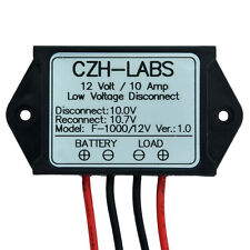 1x Low Voltage Disconnect Module LVD, 12V 10A, Protect/Prolong Battery Life.