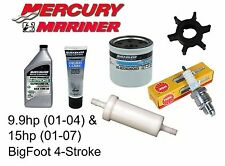 Mercury/Mariner 9.9hp & 15hp BigFoot 4-Stroke (323cc) Outboard Service Kit