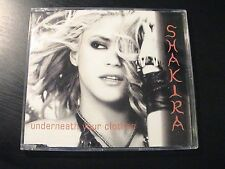 Shakira UNDERNEATH YOUR CLOTHES Mexico 1-trk Promotion Only CD Unique PS