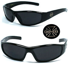 New Choppers Bikers Mens Sunglasses - Black C29