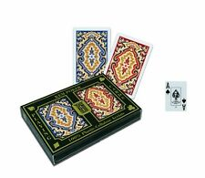 NEW KEM Paisley Bridge Size Red Blue Standard Index Playing Cards