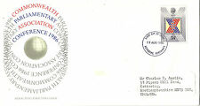 19 AUGUST 1986 COMMONWEALTH CONFERENCE ROYAL MAIL FIRST DAY COVER KETTERING FDI