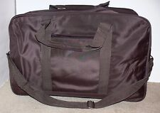 Tote Carry-on Overnight Gym Sports All Purpose Bag Luggage Brown kn