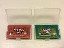 Nintendo Pokemon Leaf Green + Fire Red Versions (USA 2004) Game Boy Advance GBA