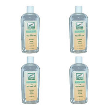NEW TEA TREE THERAPY MOUTHWASH WITH TEA TREE OIL, ALCOHOL FREE, 12 OZ (4-PACK)