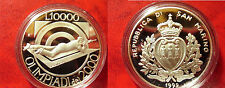 San Marino 1999 Large Proof Silver 10000 L Olympic Shooting
