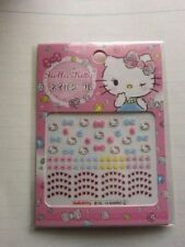 Hello Kitty Nail Art-Package of Nail Stickers-VERY CUTE!!-New in Package-GIFT!!