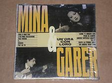 MINA & GIORGIO GABER - UN'ORA CON LORO - CD SIGILLATO (SEALED)