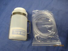 MG NEW MGB ROADSTER TUDOR WASHER BOTTLE, STAINLESS BRACKET AND WASHER TUBING*X2C