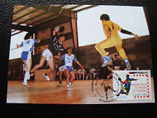 FRANCE - carte 1er jour 20/1/2001 (handball) (cy39) french