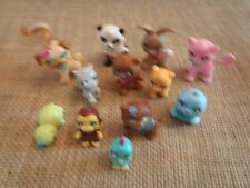 Polly Pocket Lot Sparklin Sparkling Pets Cat Dog Squirrel Bunny Turtle  6-78