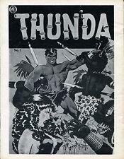 Fantastic Exploits #20-Thunda by Frank Frazetta-The S.F.C.A. Fanzine