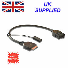 For Nissan JUKE 284H2-ZT50A iPhone iPod USB & Aux Cable replacement (Black)