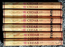 Hem Cedar Incense 6 x  20 Stick, 120 ISticks Bulk Lot NEW {:-)