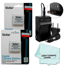 Batteries & Charger For CANON PowerShot SX600 HS,SX700 HS ,SD1200 NB-6L/NB-6LH