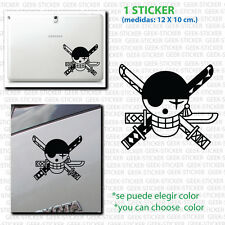 zoro one piece pegatina sticker Aufkleber