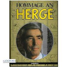 Hommage an Hergé TIM und Struppi Biographie COMICPLUS 1986 LIGNET CLAIRE 80er