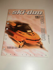 SKIDOO 1997 PARTS CATALOG MANUAL SKANDIC SUPER WIDE TRACK / WIDE TRACK LC